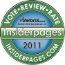 insiderpages, EFS, Elite Fitness Studio, GYM, Pilates, Yoga, Martial Arts, Award, 2007